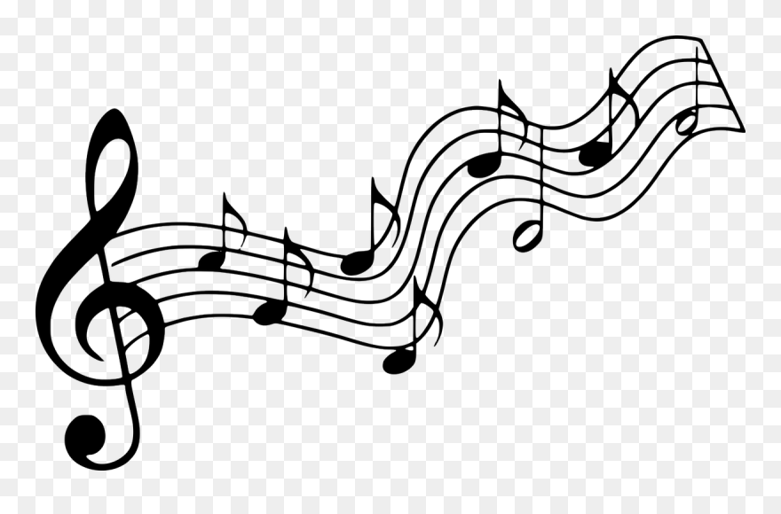 Music notes silhouette. Note clipart pinclipart