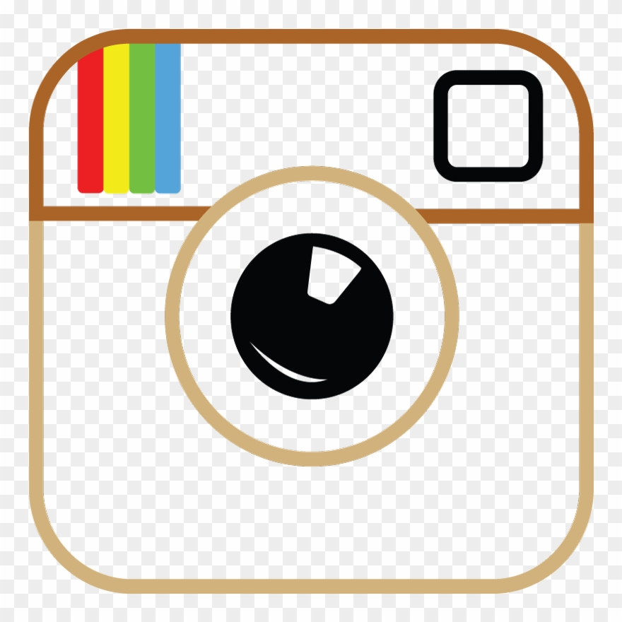 Instagram transparent background. Clipart