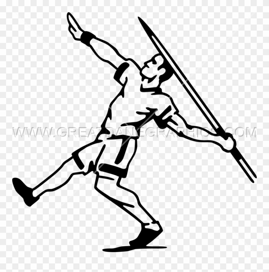 Javelin Thrower Production Ready Artwork For T