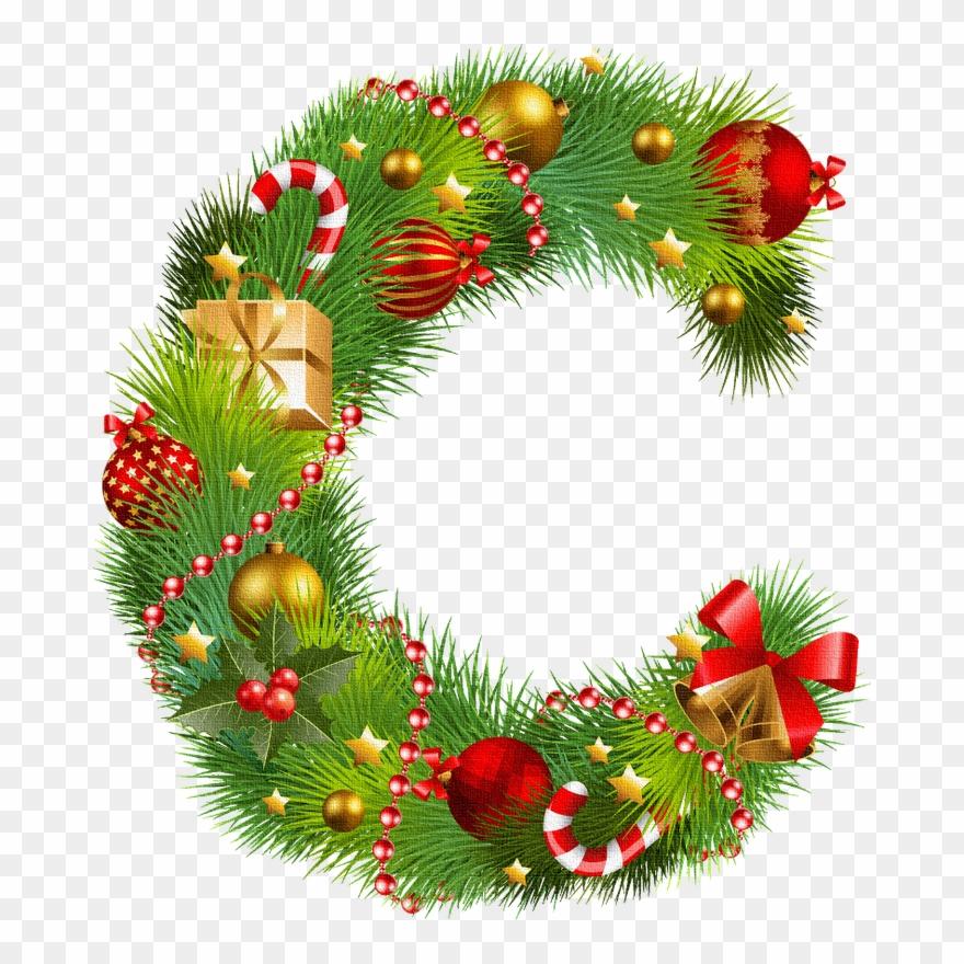 Christmas Alphabet.Holiday Christmas Alphabet Letters Scrap Happy