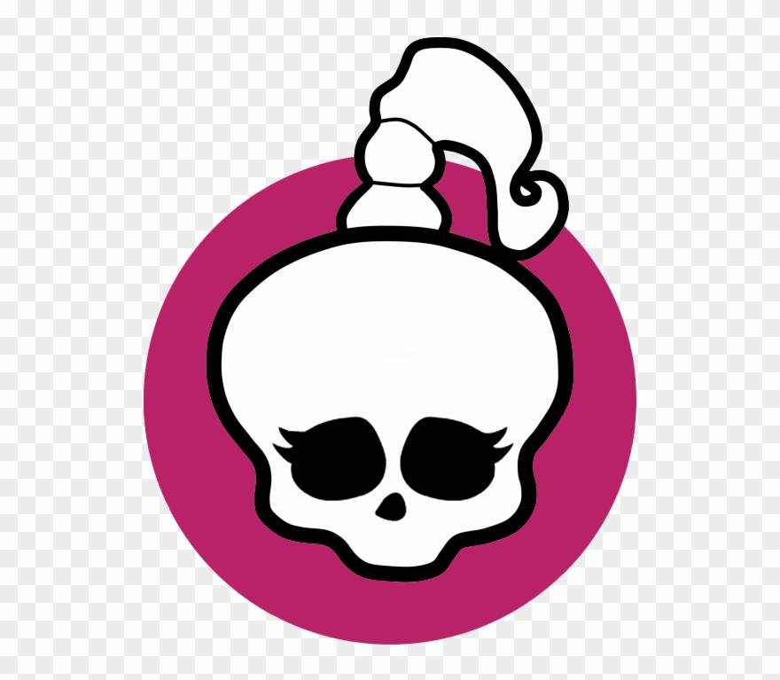картинка череп из монстер хай лучший