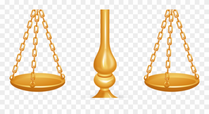 Scales Justice Gender Equality Powerpoint Template Clipart