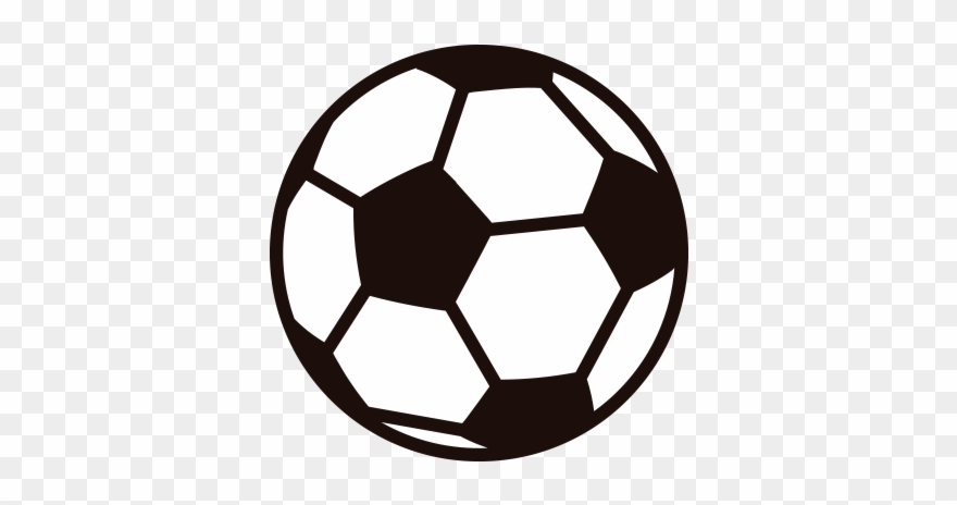 Soccer ball transparent background. Clip art royalty free