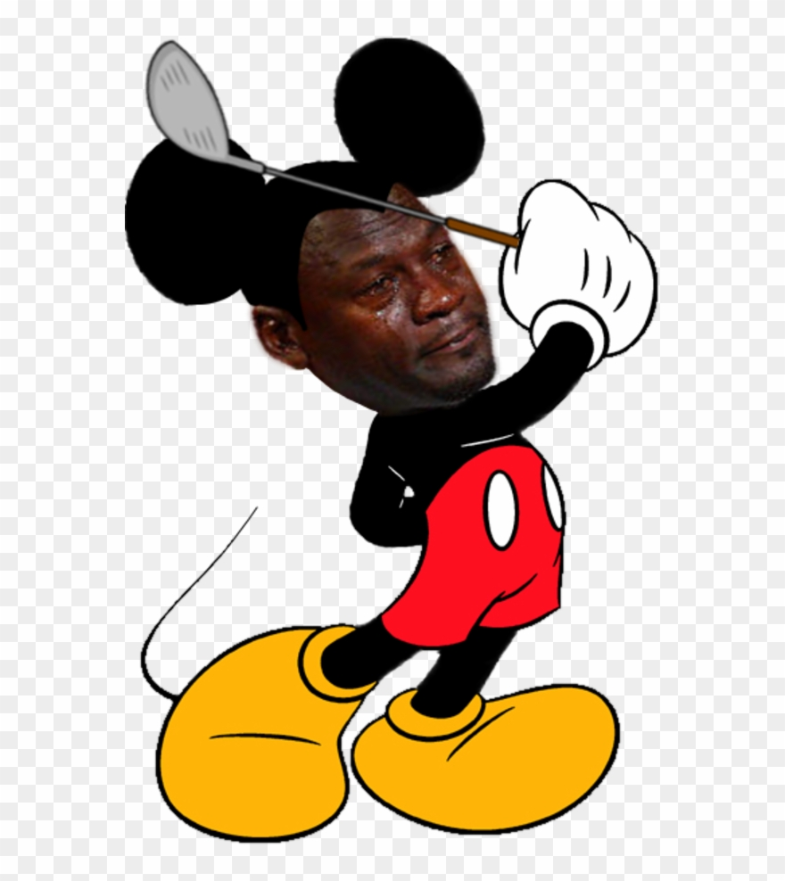 Crying Jordan Face Png - Good Morning Mickey Mouse Meme ...