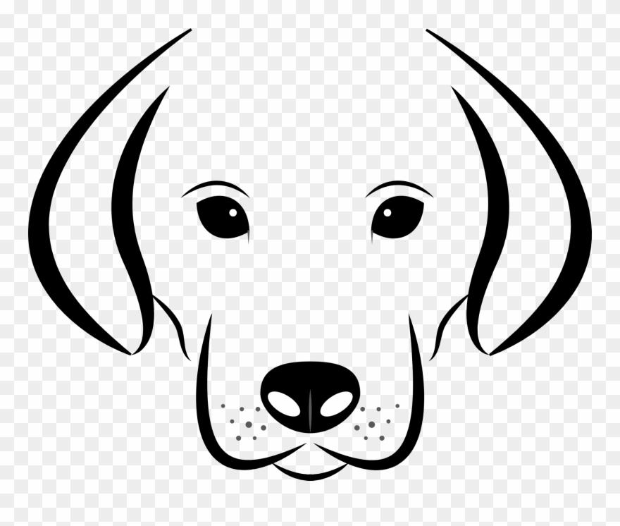 Ausmalbilder Tiere Malvorlage Kostenlos Ausmalbilder Dog Face Clipart Black And White Png Download 876844 Pinclipart