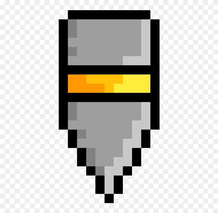 A Heavy Bullet - Pixel Art Roblox Ideas Clipart (#880536 ...