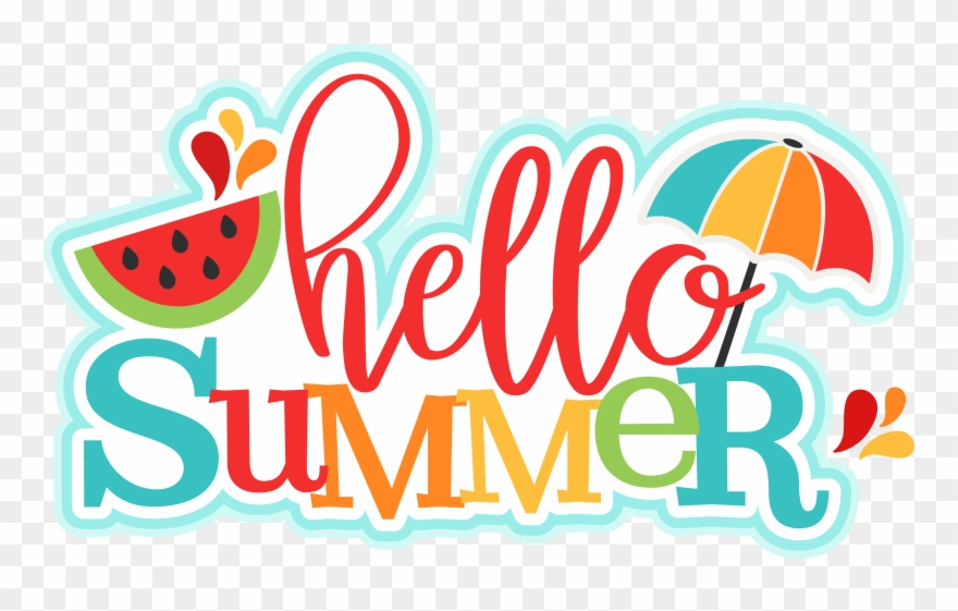 Silhouette Design, Summertime, Die Cutting, Hello Summer, - School Is Closed For Summer Clipart