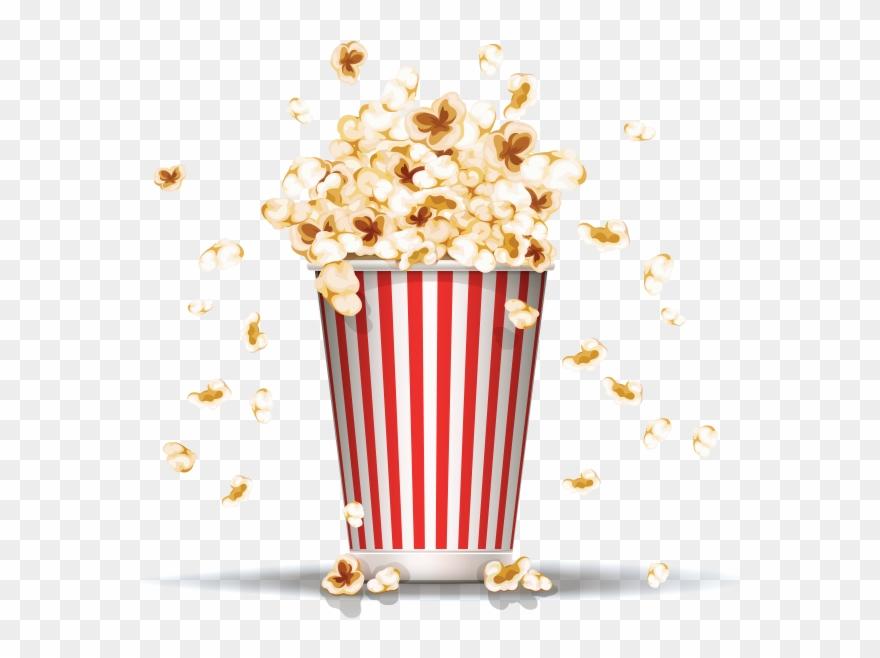 Png Images Free Download - Transparent Background Popcorn Png Clipart