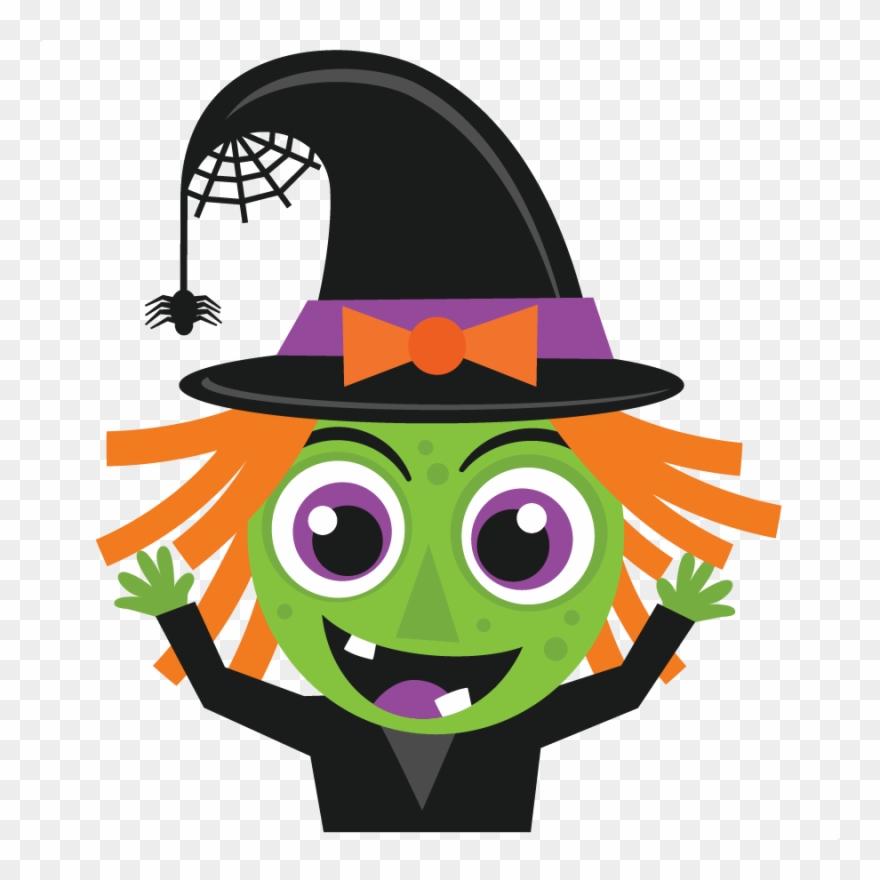 Halloween Witch Svg Scrapbook Cut File Cute Clipart ...