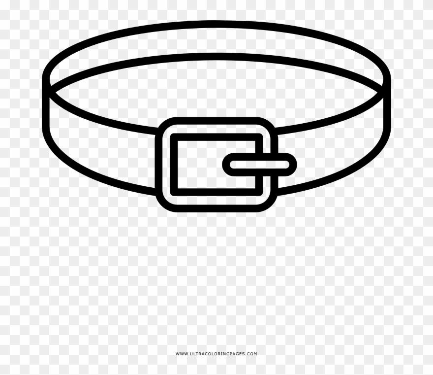 Cintura Disegni Da Colorare Ultra Coloring Pages Clip Circle Png