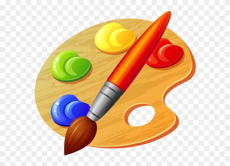 Coloring For Pages Palette De Peinture Dessin Clipart
