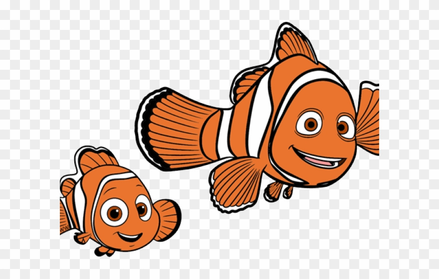 Nemo Cliparts Marlin Drawing Finding Nemo Png Download