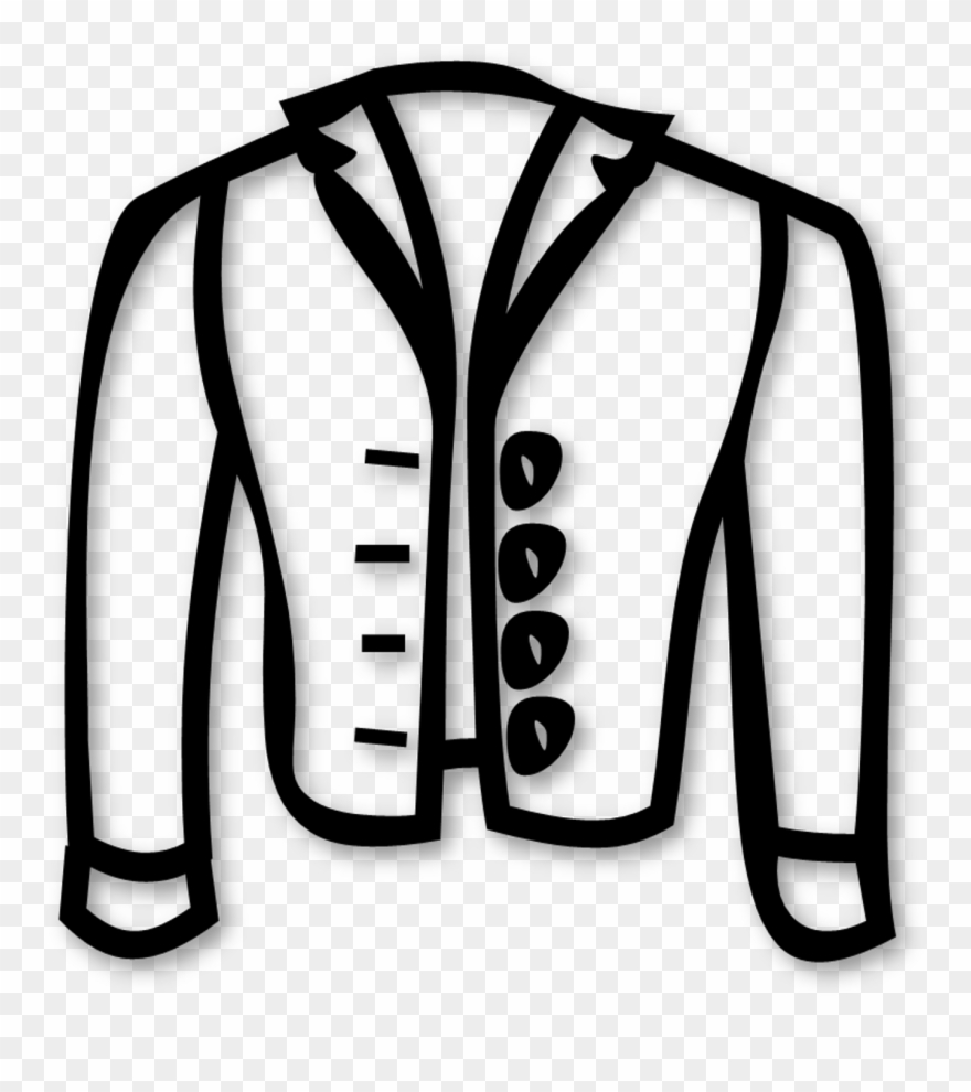 picture regarding Printable Jacket named Jacket Clipart Printable - Coloring Reserve - Png Obtain