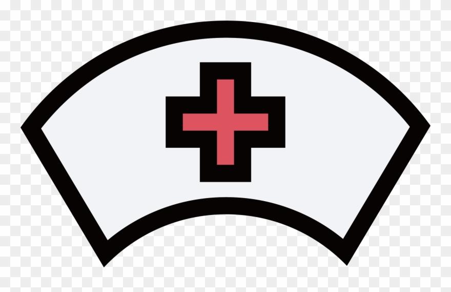 Nursing Nurses Cap Icon Nurse Hat Png Clipart 891441 Pinclipart