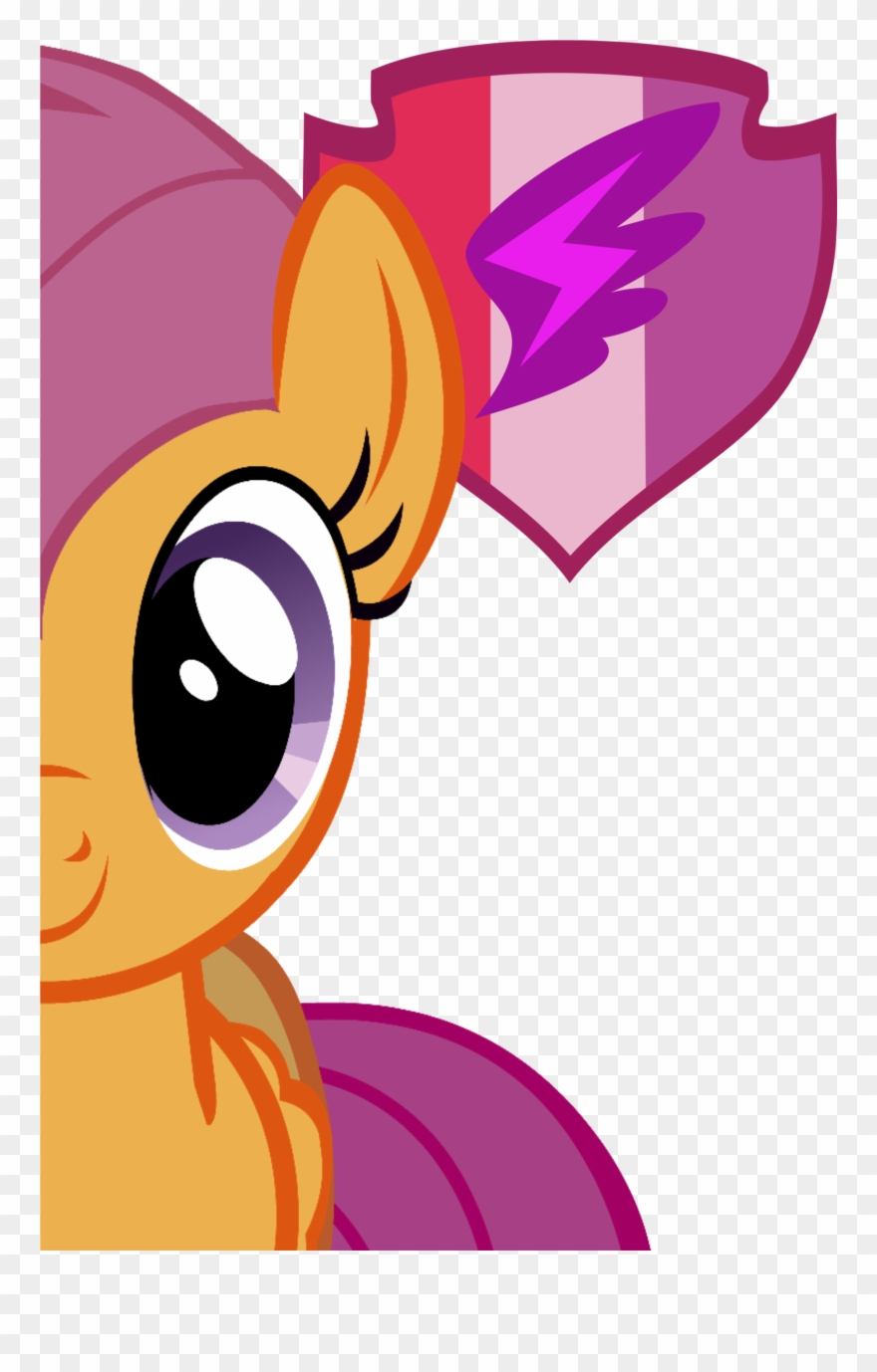 My Little Pony My Little Pony Scootaloo Clipart 896928 Pinclipart High quality rainbow dash scootaloo gifts and merchandise. my little pony scootaloo clipart