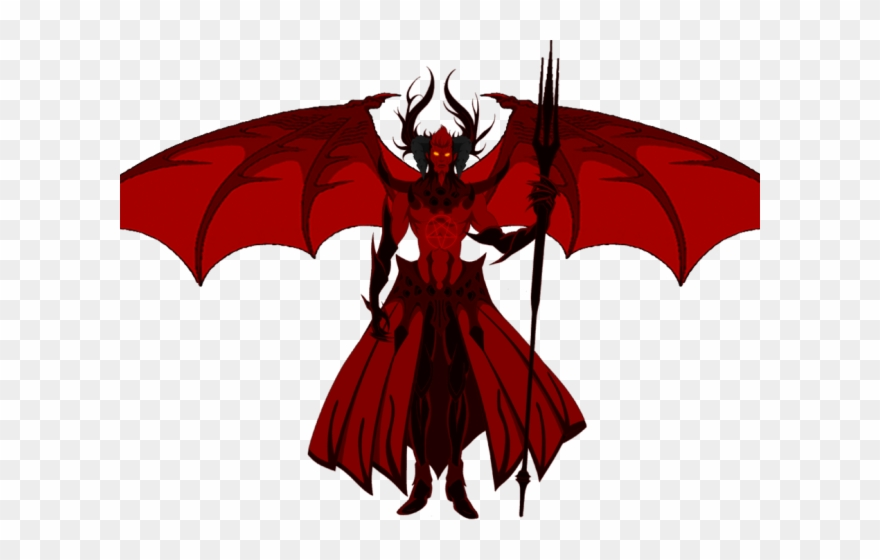 Devil Clipart Wings Shingeki Bahamut Genesis Lucifer Png
