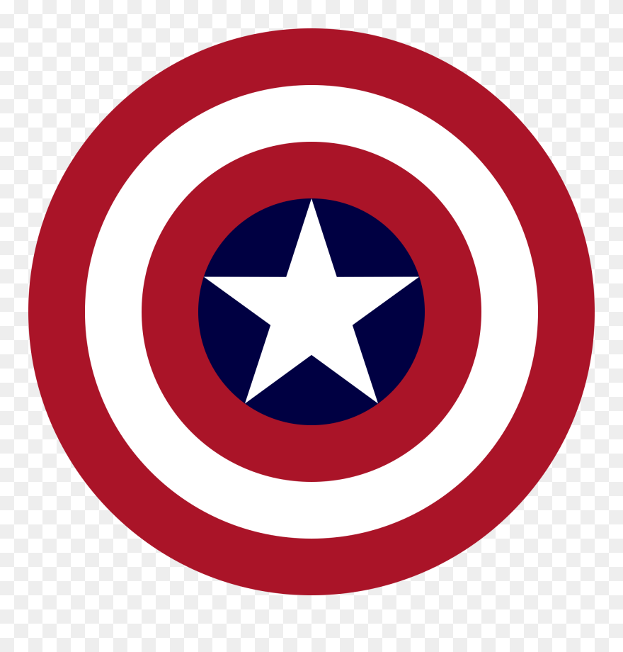 ac28622a5ea Clip Art Freeuse Library File S Shield Svg - Dream League Soccer Captain  America Logo -