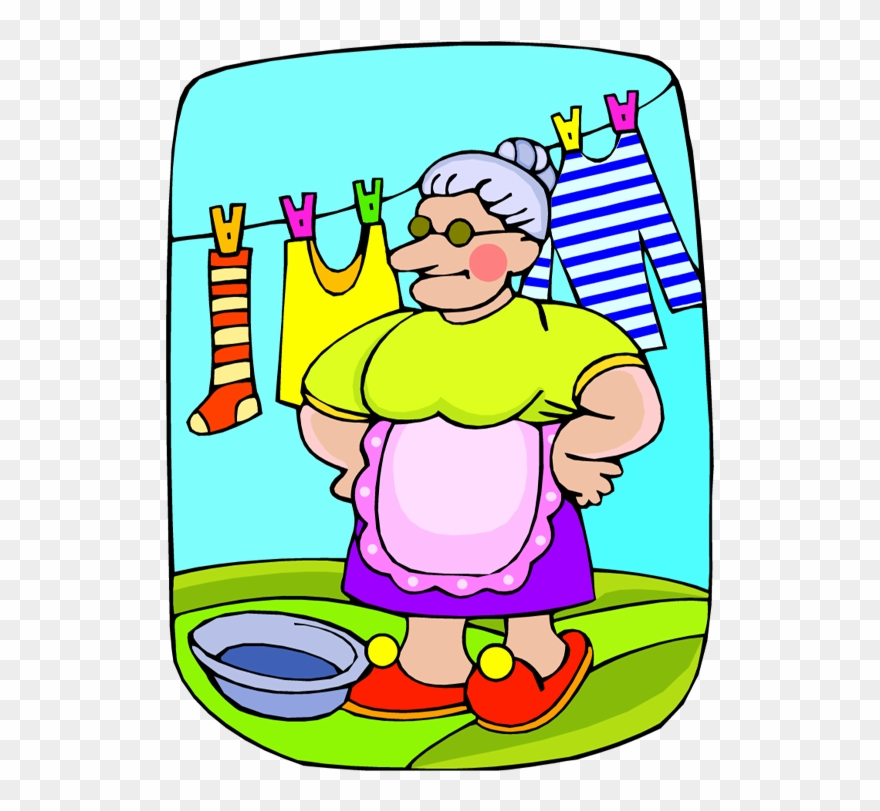 Sorting Laundry Cliparts Hanging Of Clothes Clipart Png Download