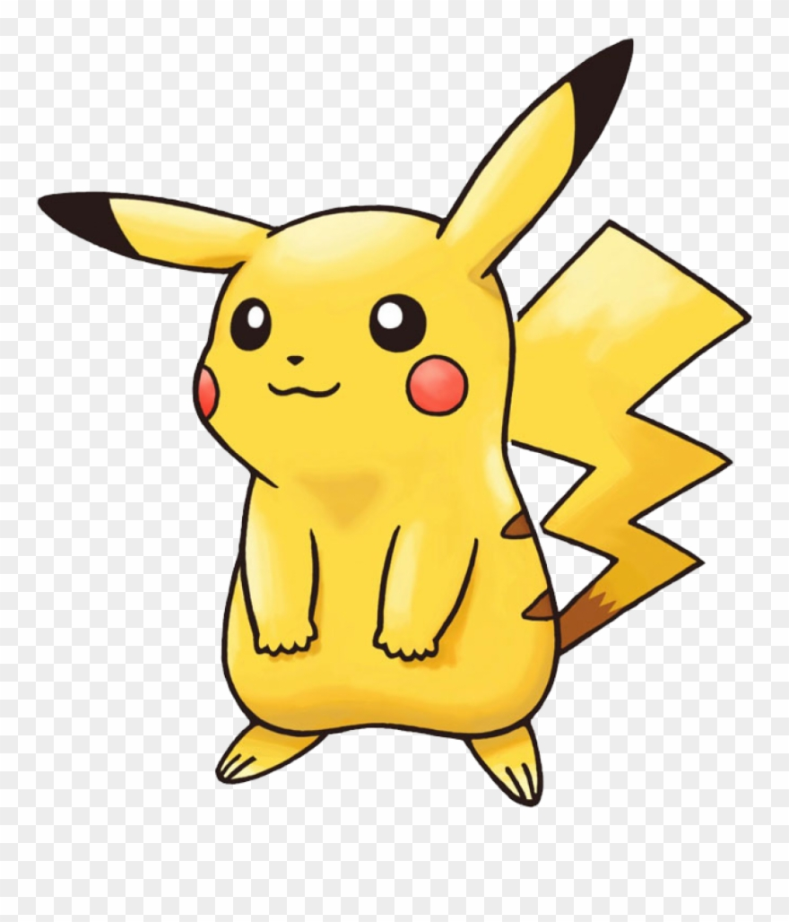 Pikachu cartoon. Clipart word png download
