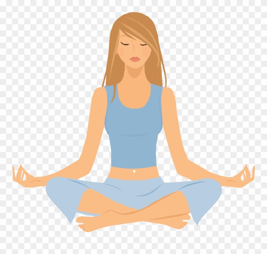 Free Png Yoga Transparent Images Pluspng Yoga Clip Art 92309 Pinclipart