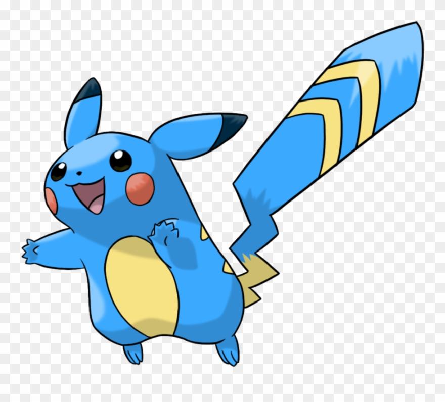Pokemon Clip Water Clipart Pokemon Alolan Pikachu Png