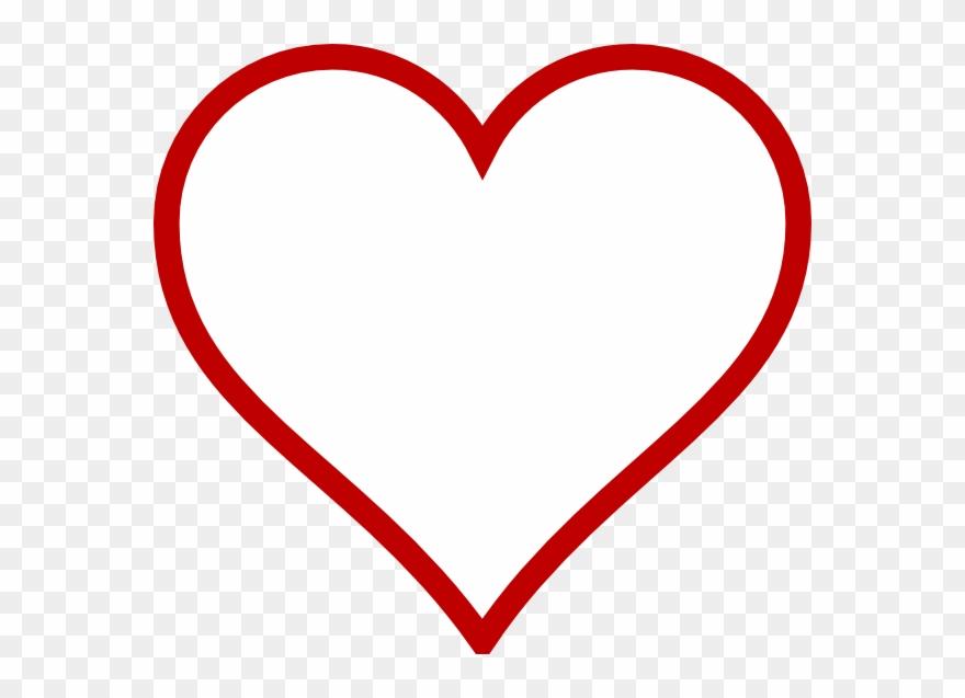 Big Heart Shape Template Clipart 93535 Pinclipart