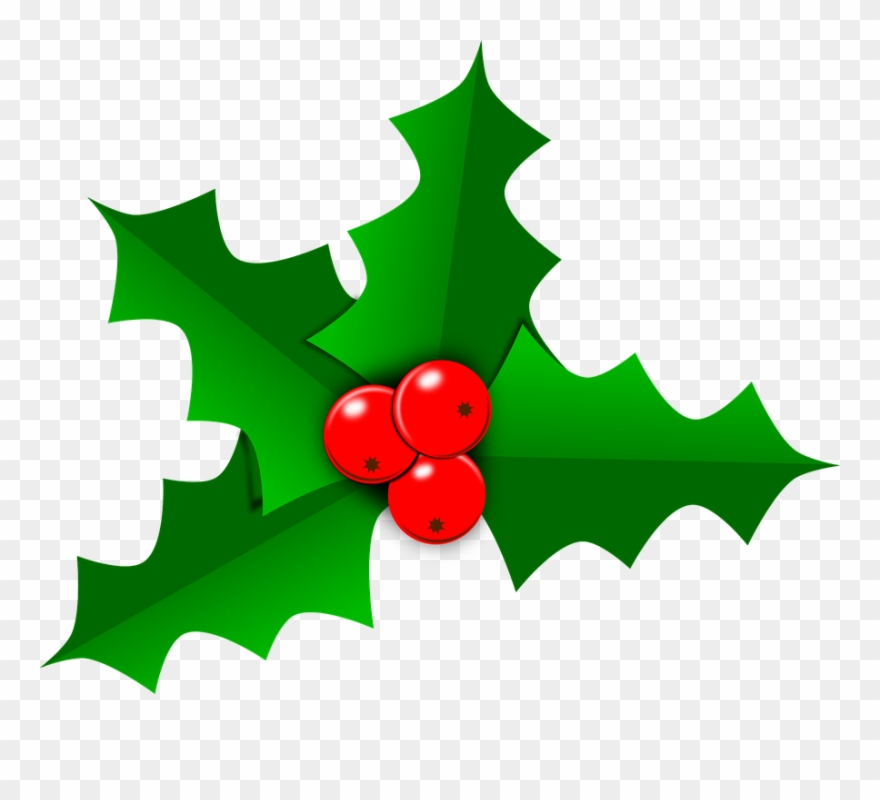 Christmas Clipart Holly.Holly Images Free Holly Christmas Leaf Free Vector