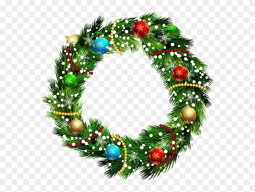 Christmas Reef Png.Christmas Wreath Png Clip Art Image Transparent Clip Art