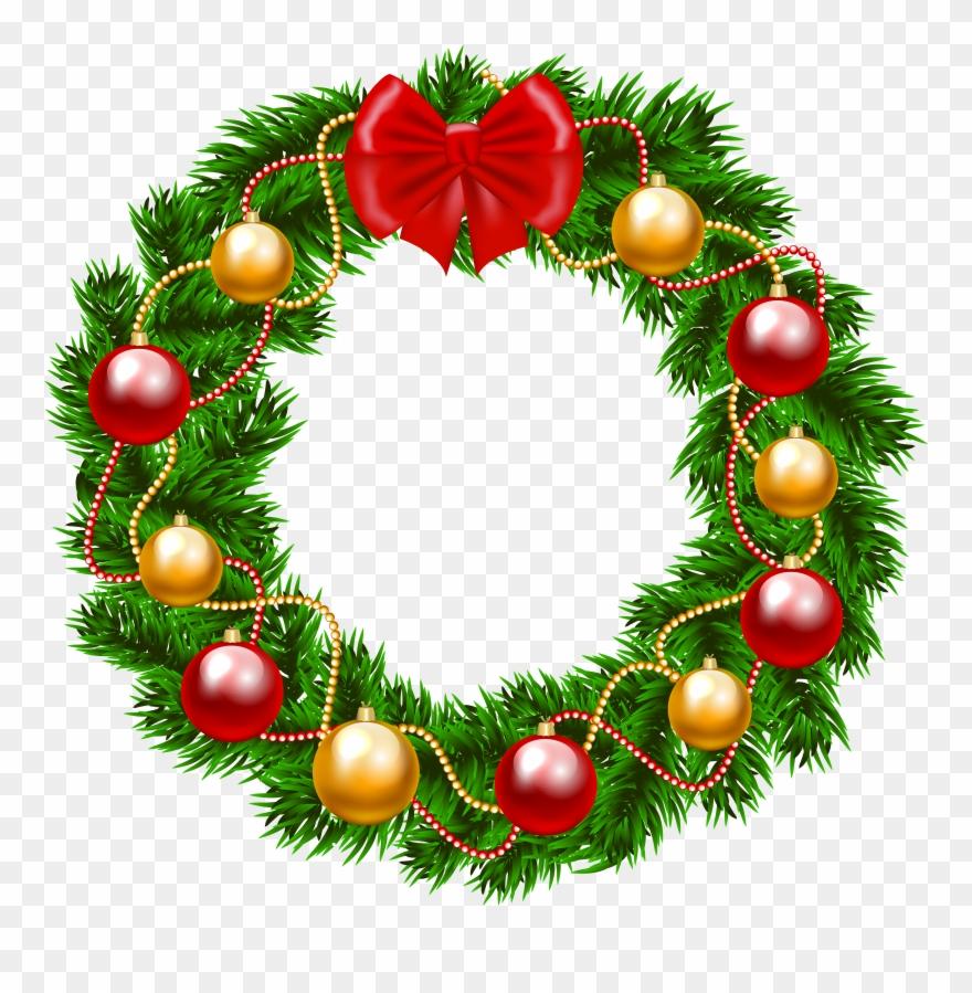 Christmas Wreath Png Transparent.Christmas Wreath Png Clipart Image Wreath Christmas Clip
