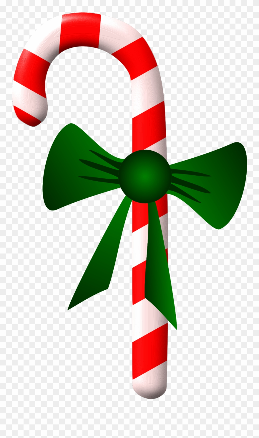 Peppermint - Candycane Clipart - Png Download