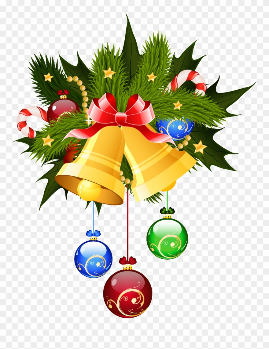 Christmas Bells Clipart.Pin By Pngsector On Christmas Png Christmas Transparent