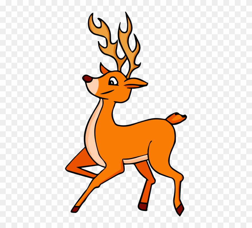 Deer head cute. Baby clipart free images