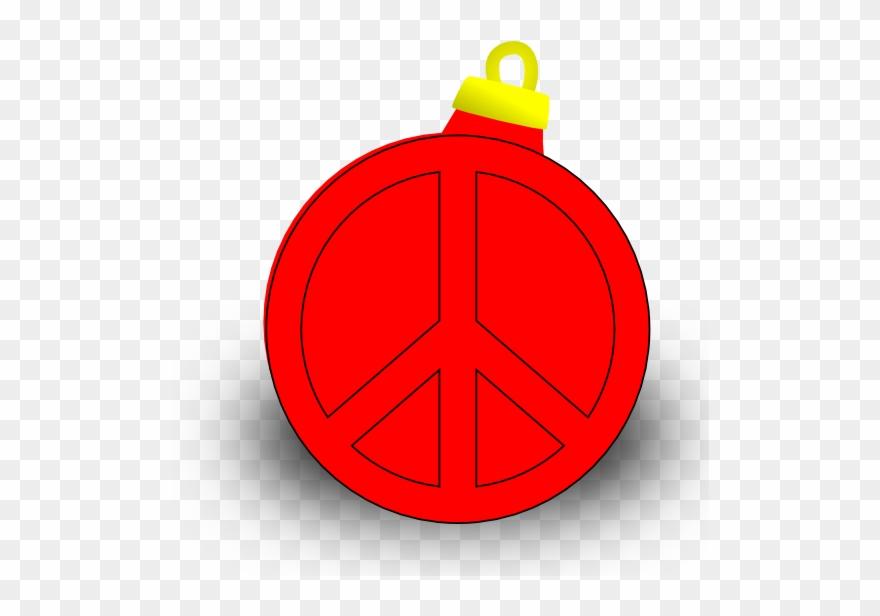 Peace Christmas Sign.Xmas Ornament Christmas Holiday Peace Symbol Sign Coloring