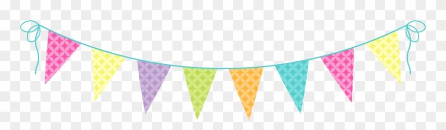 Party banner. Birthday clip art transprent