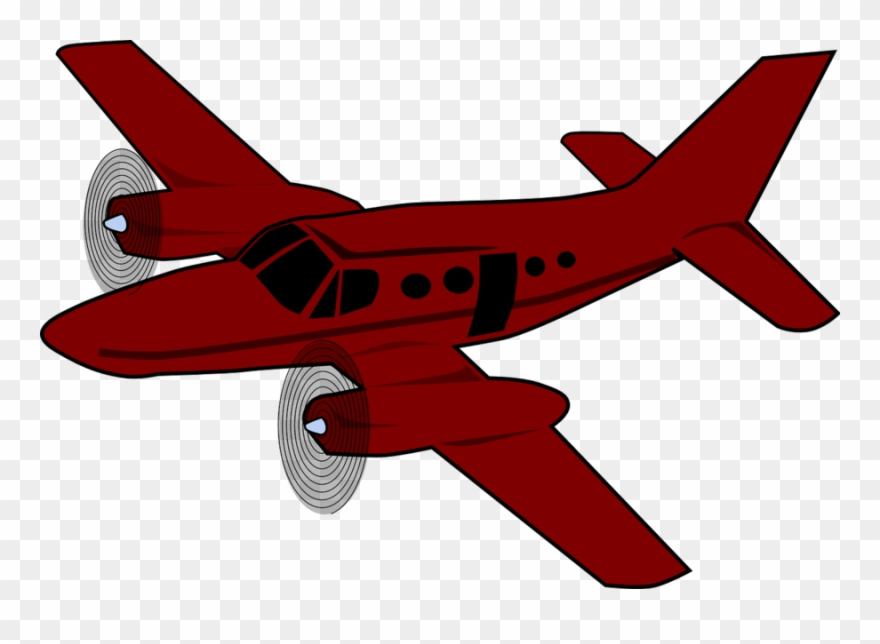 Airplane red. Download aeroplane clipart aircraft