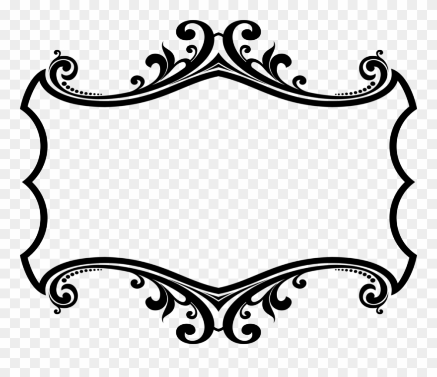 Line border. Borders and frames picture
