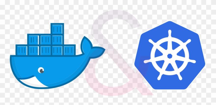 Docker And Kubernetes - Transparent Kubernetes Icon Clipart