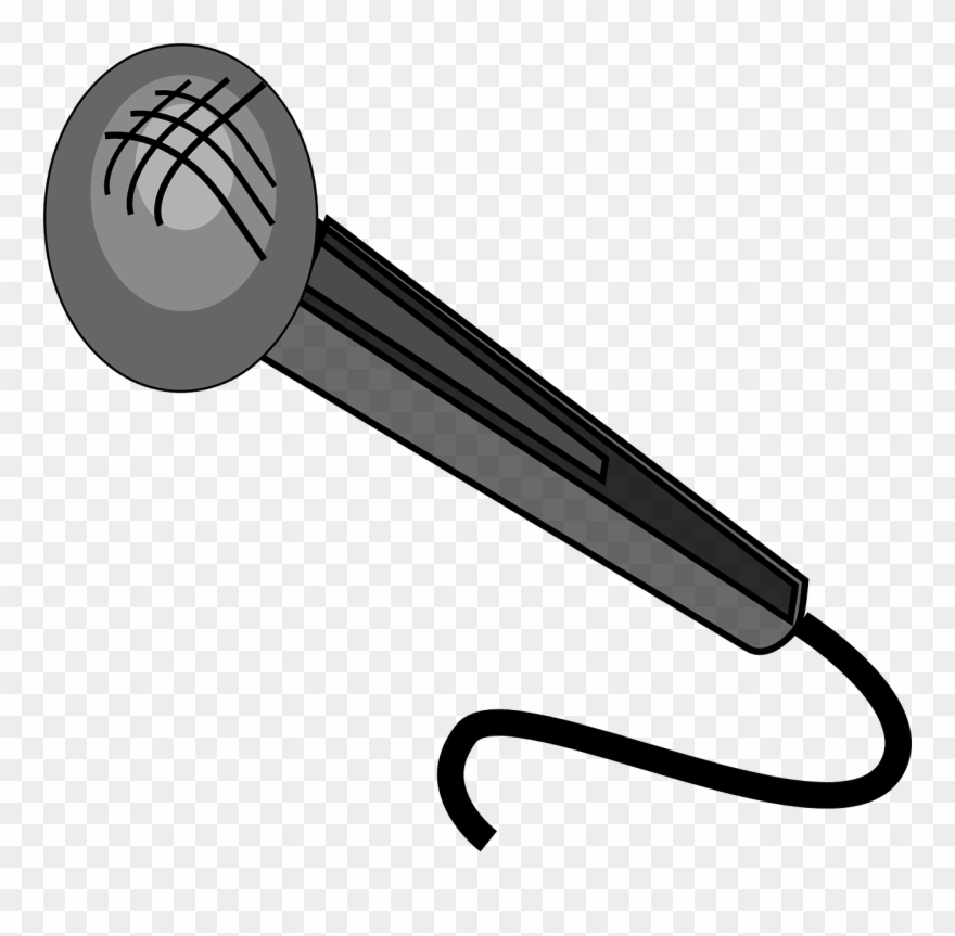 Microphone Sound Voice Sing Loud - Microphone Clipart