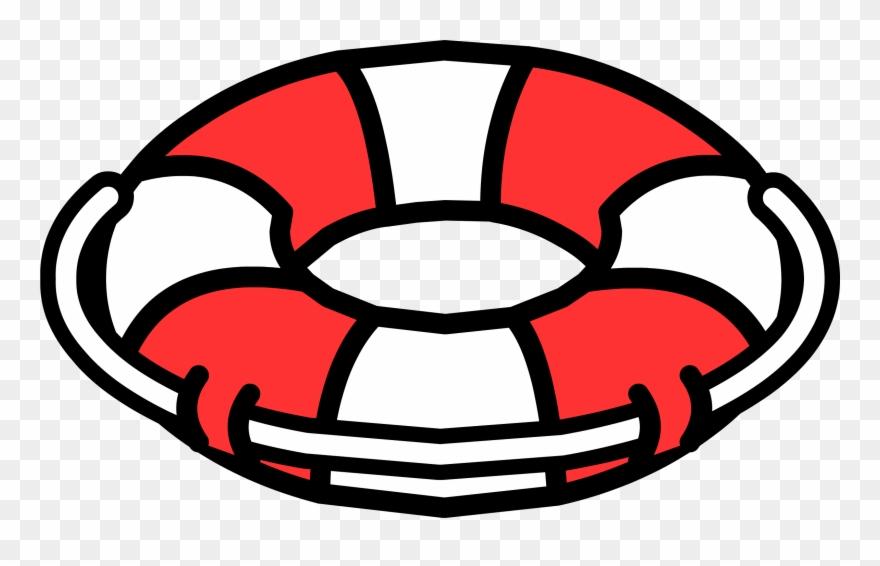 Lifeguard Clipart Life Preserver - Club Penguin Life Saver