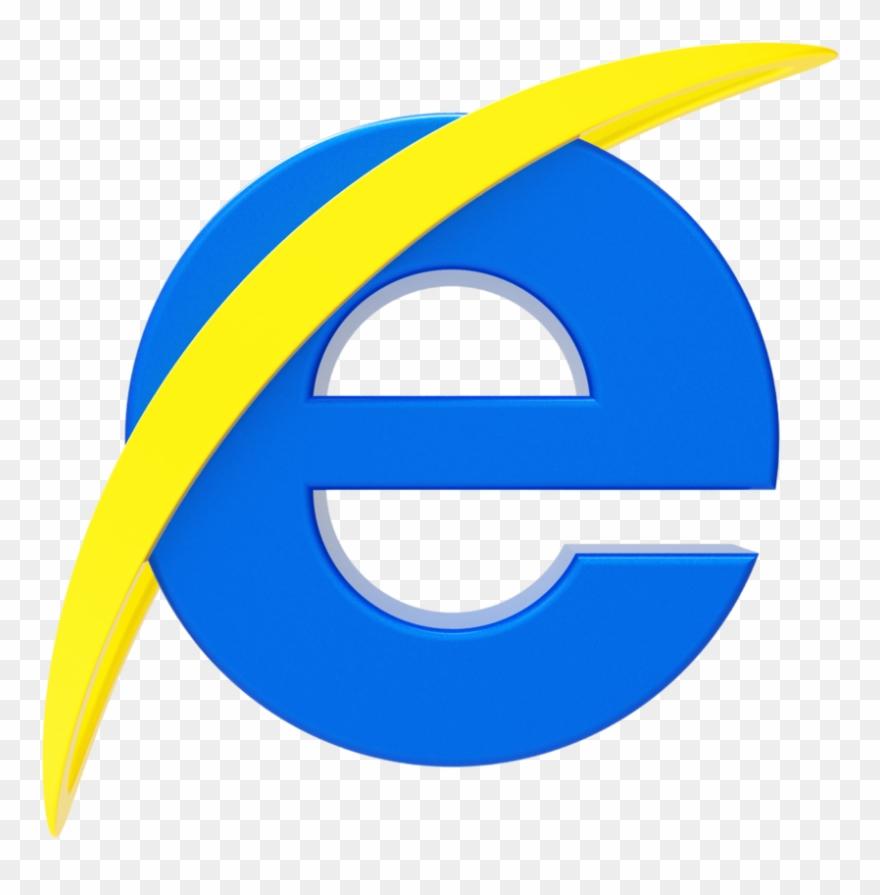 Internet Explorer Logo By Llexandro Logo Internet Explorer Png Clipart 906229 Pinclipart