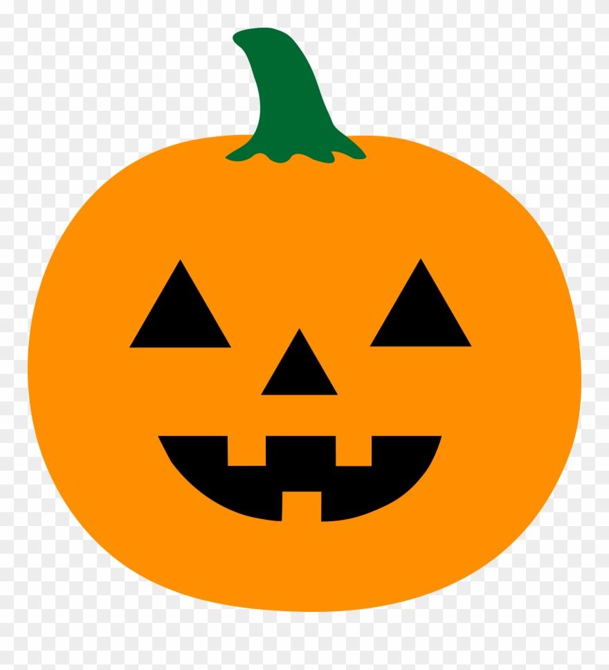 Pumpkin Simple Jack O Lantern Drawing Clipart 908702
