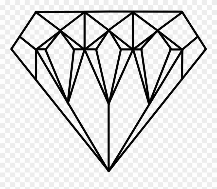 photo relating to Diamond Printable identified as Diamonds Clipart Jewel - Diamond Printable Coloring Web page