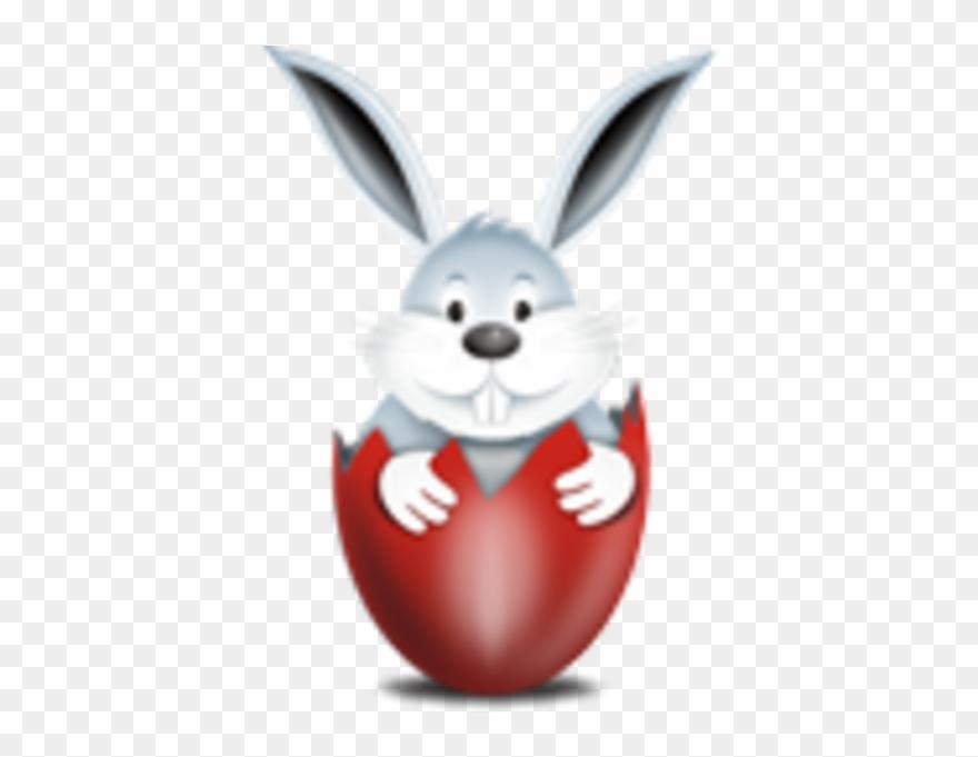 Easter Egg Rabbit Png Clipart