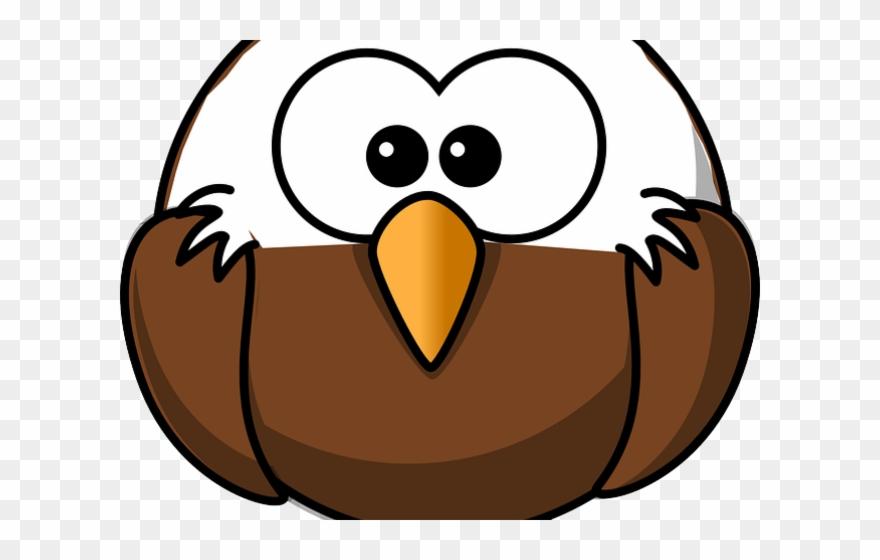 Eagle cute. Clipart clip art cartoon