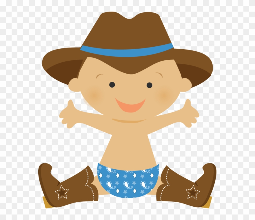 Medium Size Of Baby Shower Elegant Cowboy Baby Shower - Baby Cowboy Png Clipart