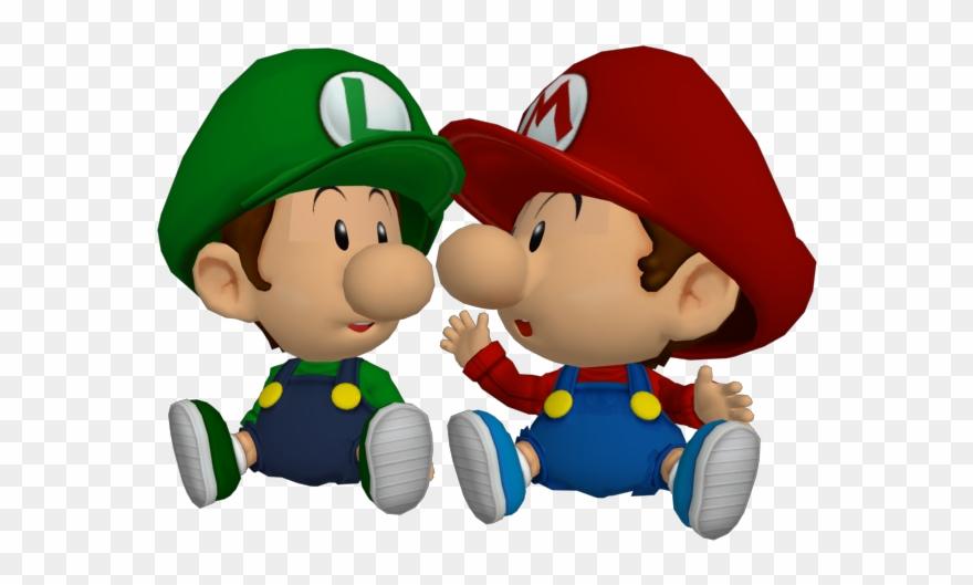 Ssbbrzs Babies Baby Mario Baby Luigi Clipart 932897