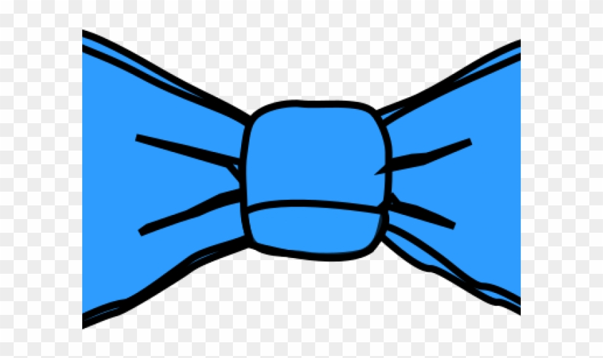 Bow tie blue. Clipart polka dot png