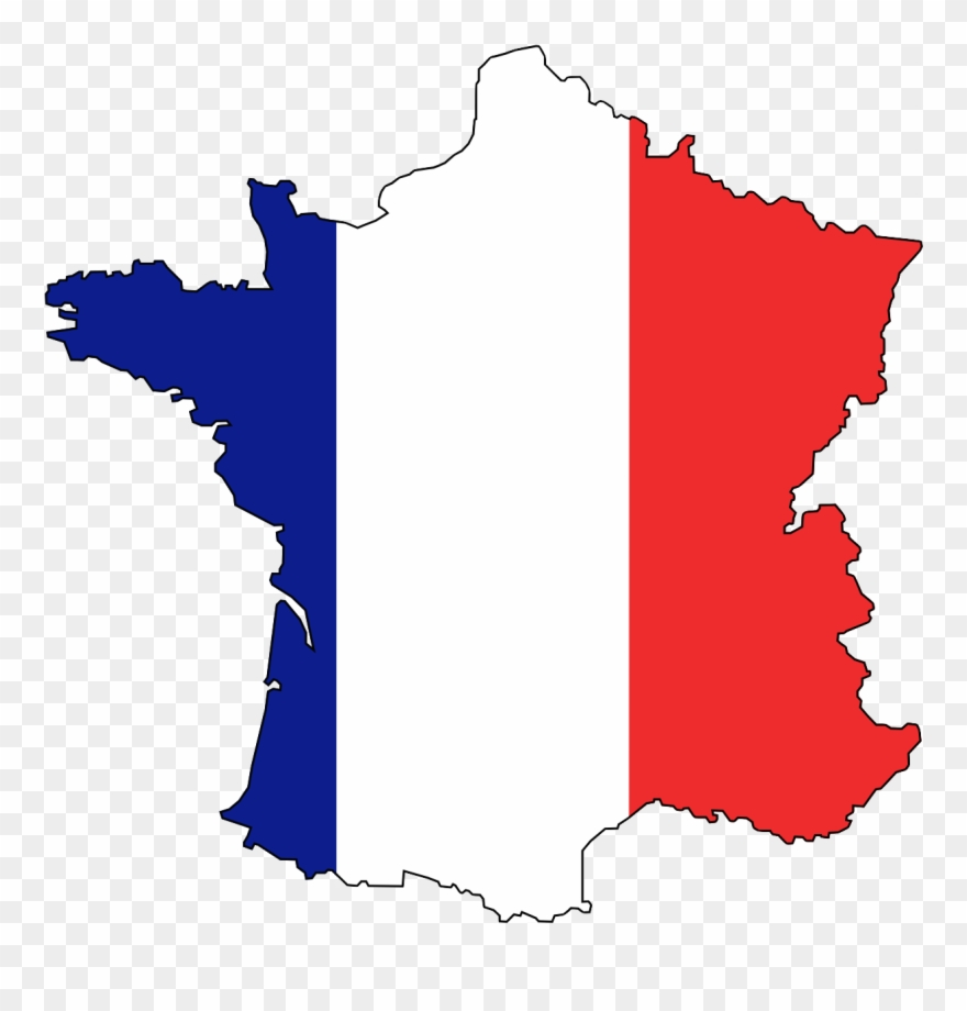 Map Of France During The French Revolution.Revolution Clipart French Revolution Transparent France Map Flag