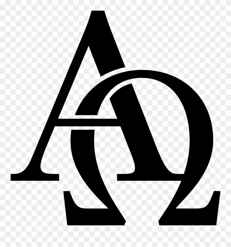 Open - Christian Symbols Alpha Omega Clipart (#941360