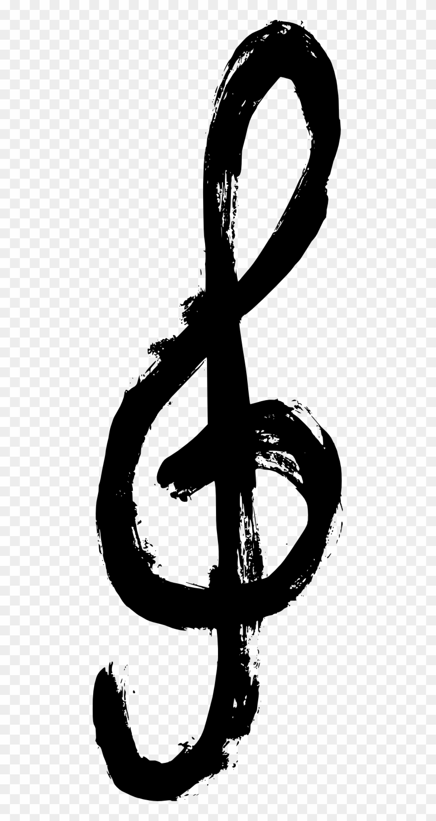 Infinity Symbol Png Transparent - Grunge Music Symbol Png Clipart
